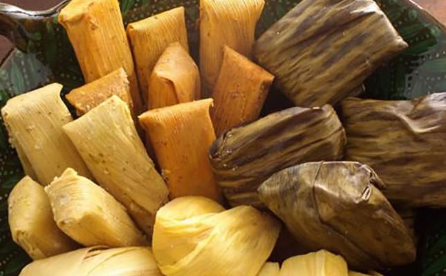 Tamales gastronomia de los nahuas