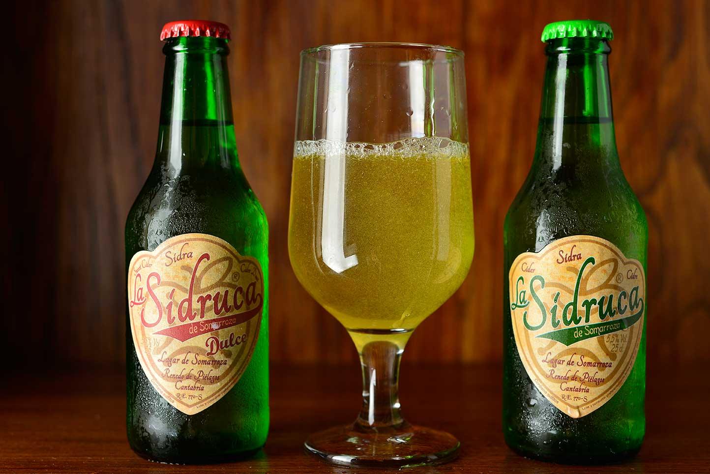 Sidra bebida popular de españa