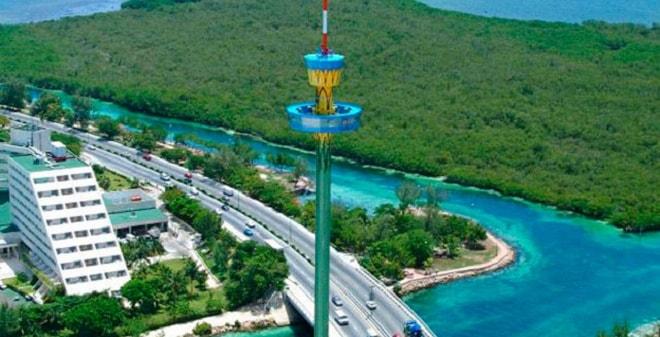 Torre escénica de cancun