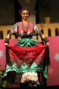 Traje típico de Guanajuato