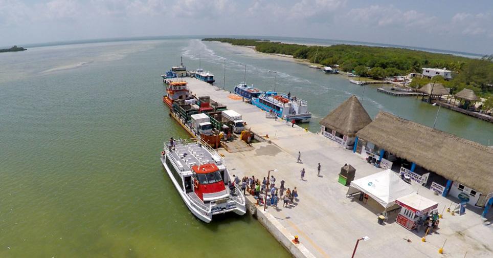 ferry de chiquila a holbox