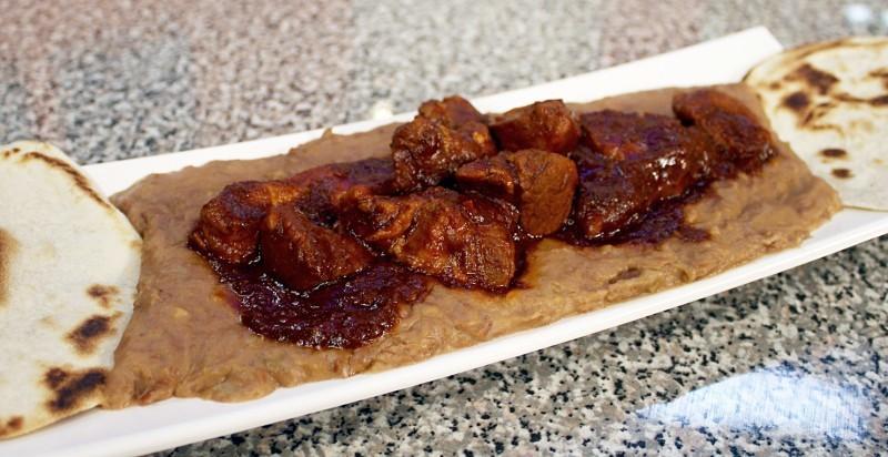 Frijoles con Veneno platillo tradicional de monterrey