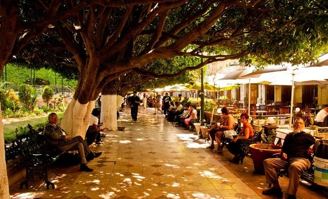 Jardín de la unión guanajuato atractivo