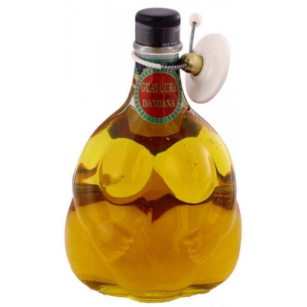 Licor de Damiana bebida de baja california sur