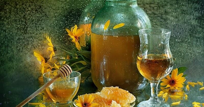 Medovuja bebida tradicional rusia