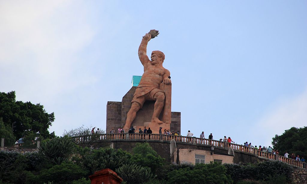 Monumento al Pípila atractivo guanajuato