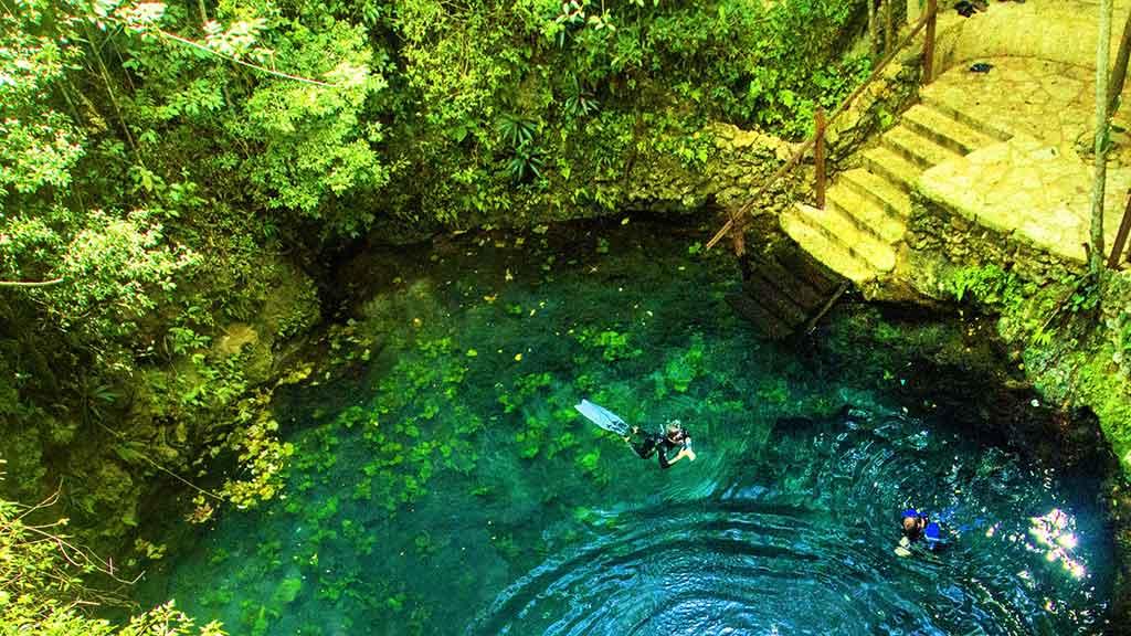 Ruta de los Cenotes de puerto morelos