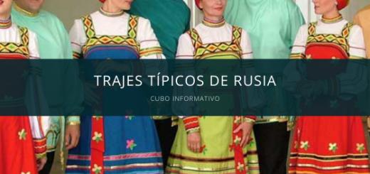 Trajes típicos de Rusia
