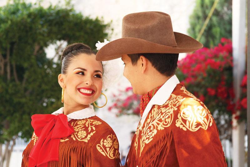 Trajes típicos de Tamaulipas