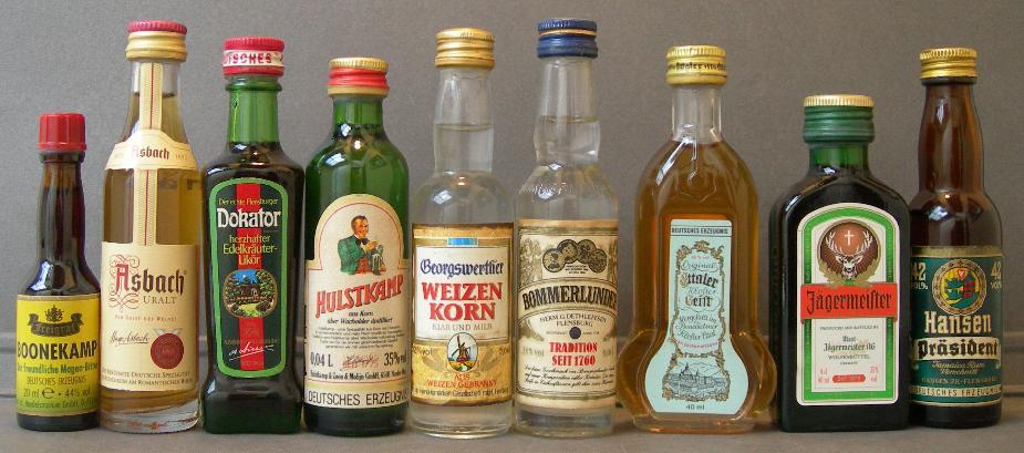 aguardiente de alemania bebidas