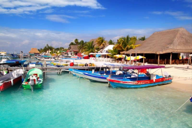 tour en lancha puerto juarez a isla mujeres