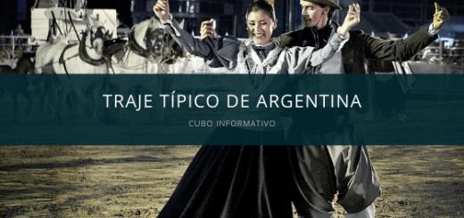 traje típico de argentina