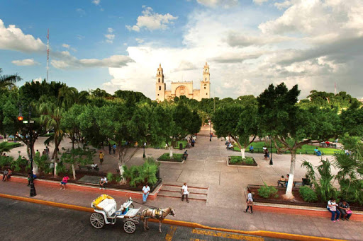 Parque Principal de Mérida