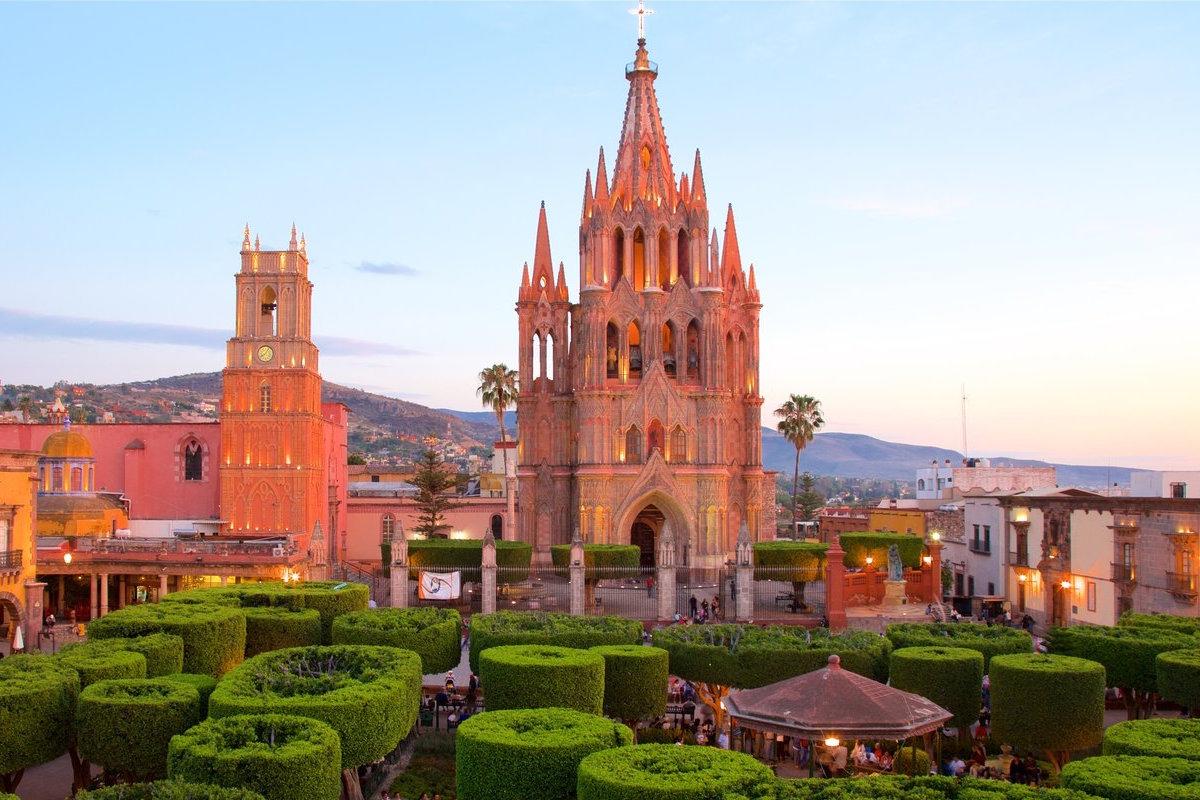 Parroquia San Miguel de Arcangel que ver en San Miguel de Allende