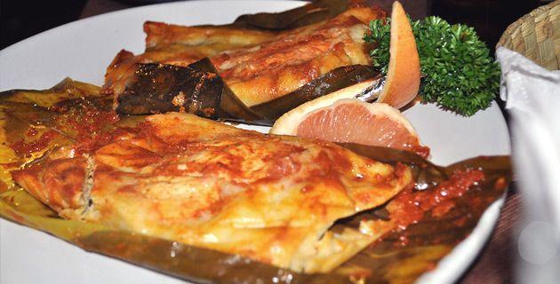 Tamales de pescado del Istmo gastronomia oaxaqueña