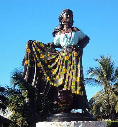 traje dela costa de acapulco de Guerrero