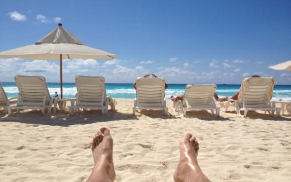 disfrutar de la playa cancun