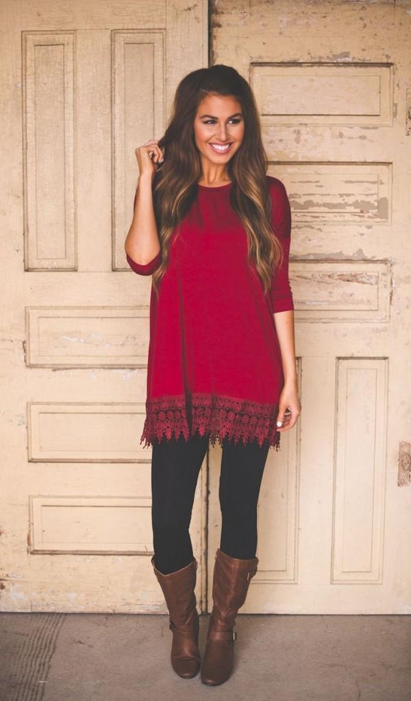 outfit leggins navideños