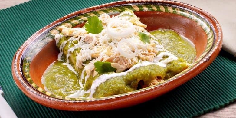 Enchiladas poblanas gastronomia puebla