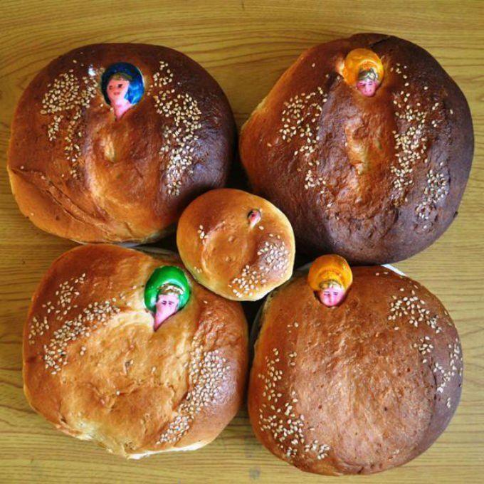 Pan de Yema dulce de Oaxaca