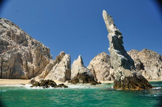 Playa del Amor atractivo de baja california sur
