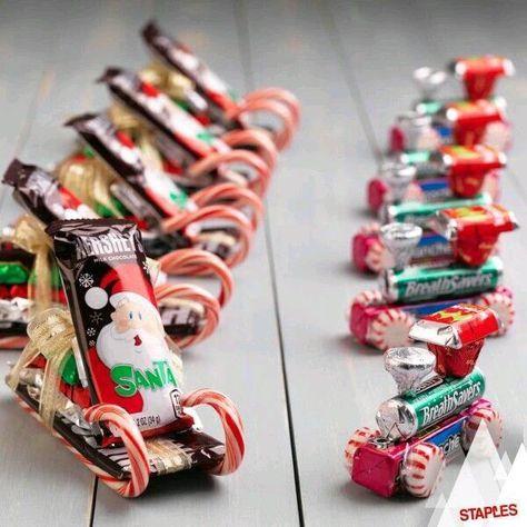 trineos dulces navidad ideas