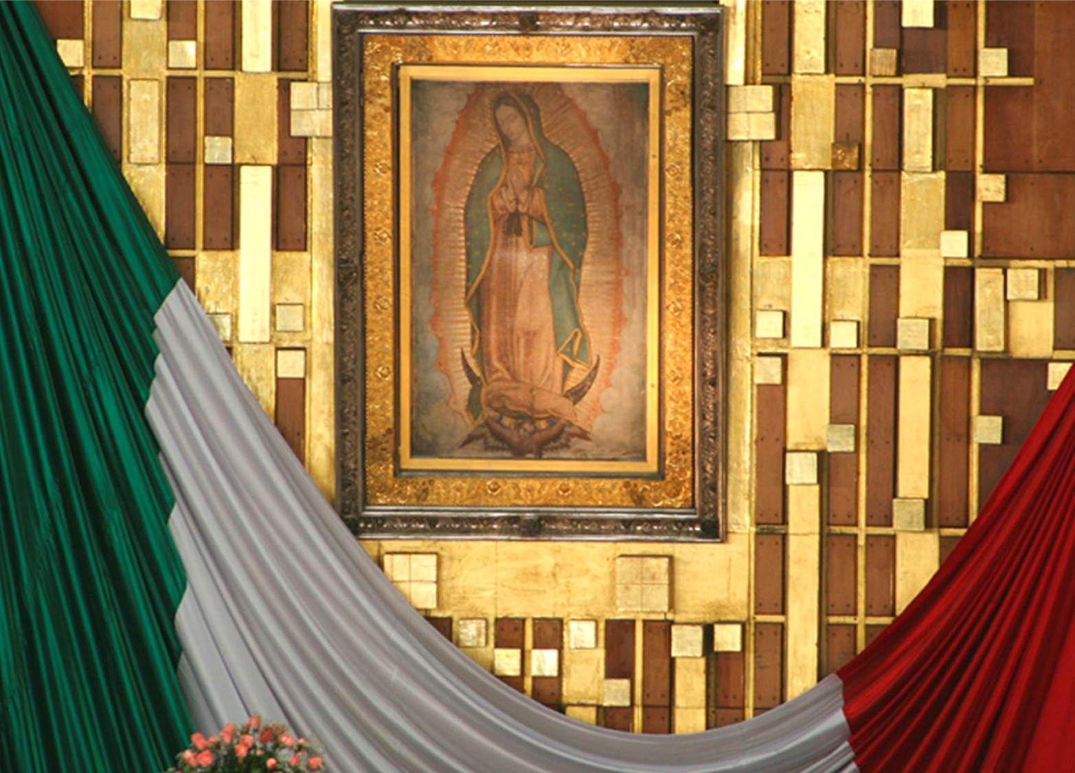 La Virgen de Guadalupe de mexico