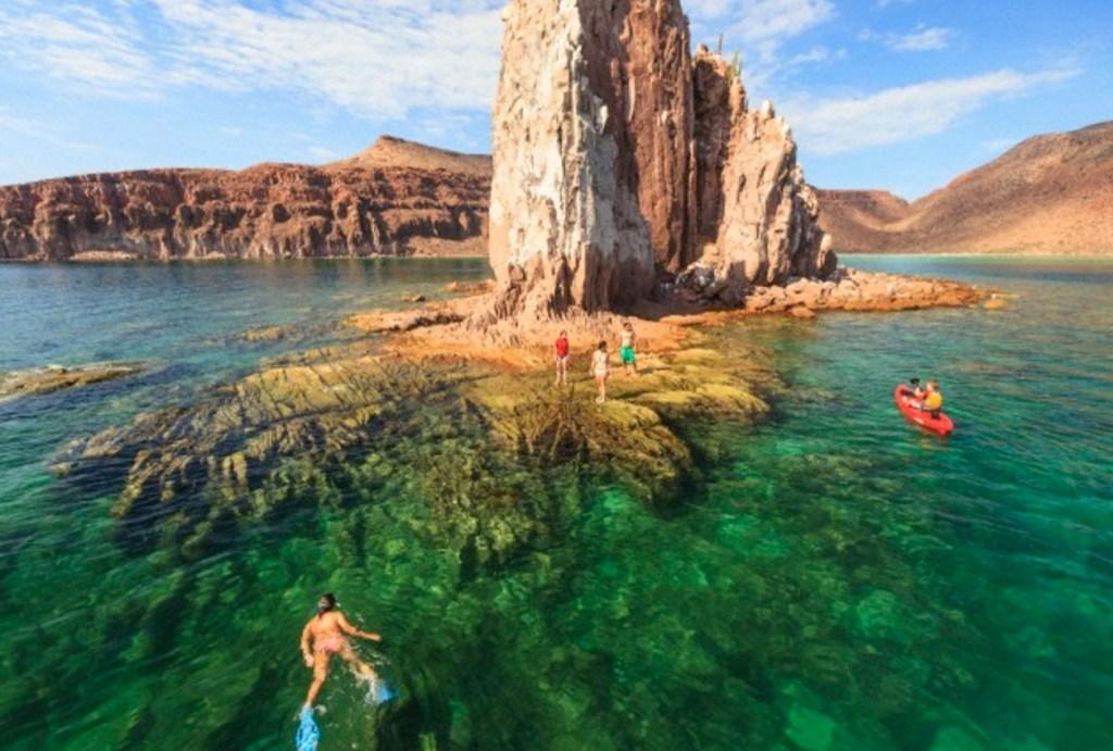 Isla Espíritu Santo atractivo natural de los cabos