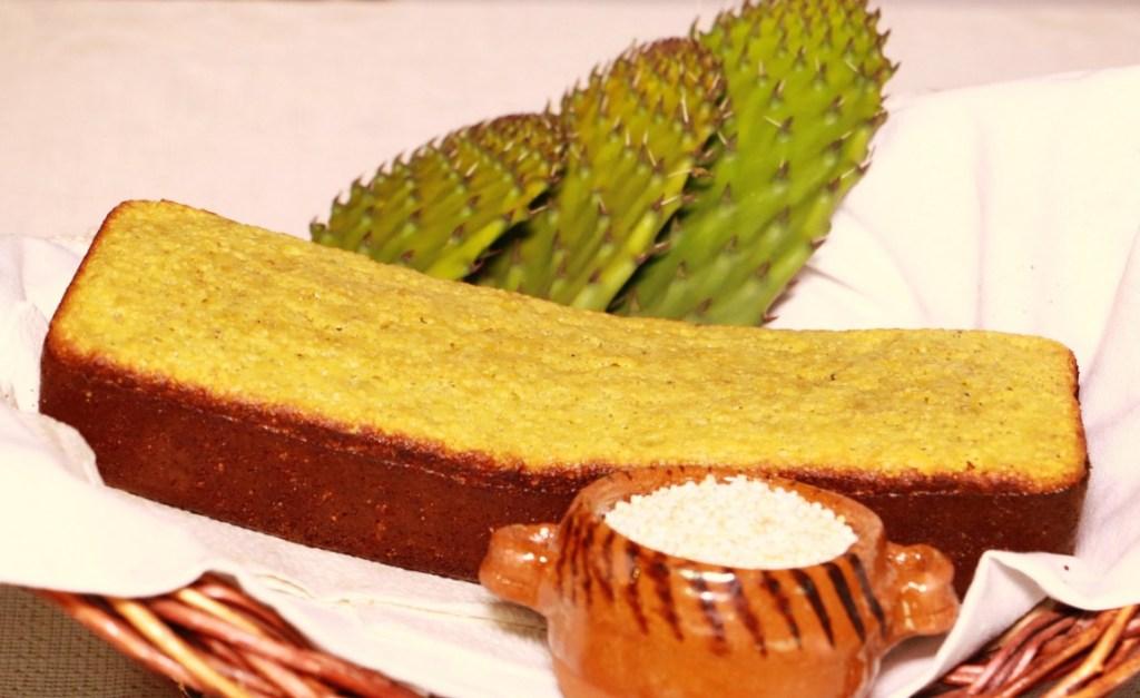 Pastel de nopal postre tipico de hidalgo