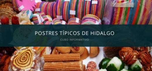 Postres Típicos de Hidalgo