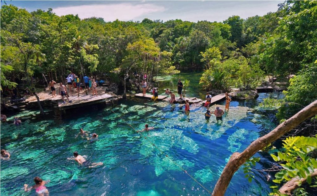 tour cenotes economicos cancun
