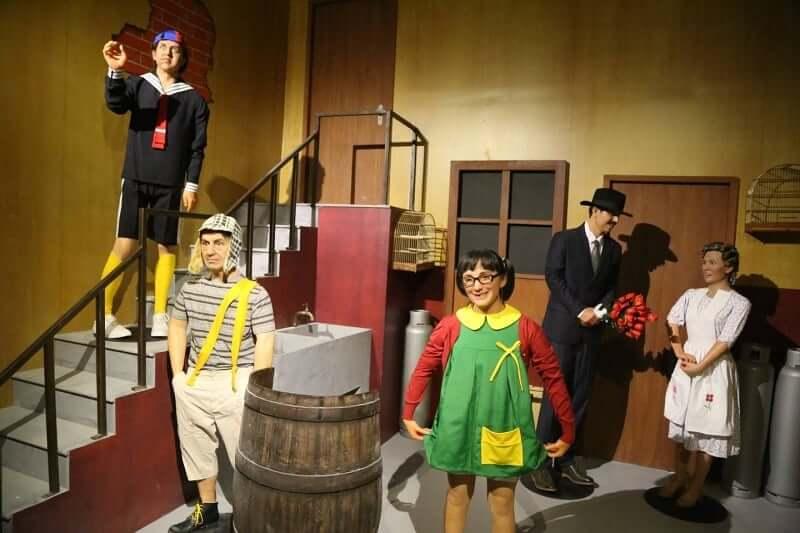 visita el museo de cera con tus niños en cancun