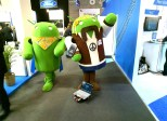 Rover befriends Intel Android at Mobile World Congress.