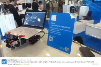 Rover on Intel's WIPJam GeekBench at Mobile World Congress