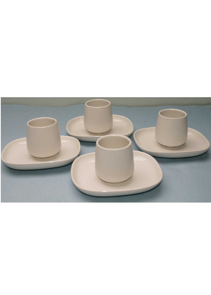 Alessi Coffee Set Ovale 4 persons
