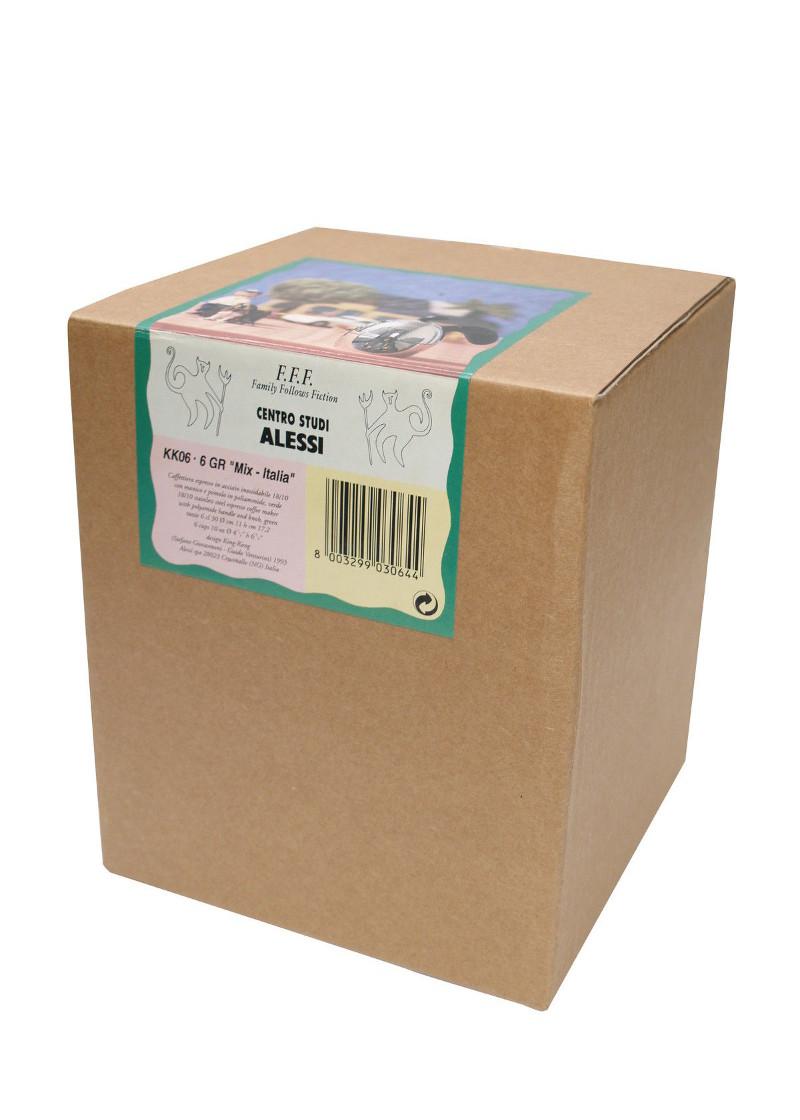 Alessi Mix-Italia Coffee Maker 6 cups