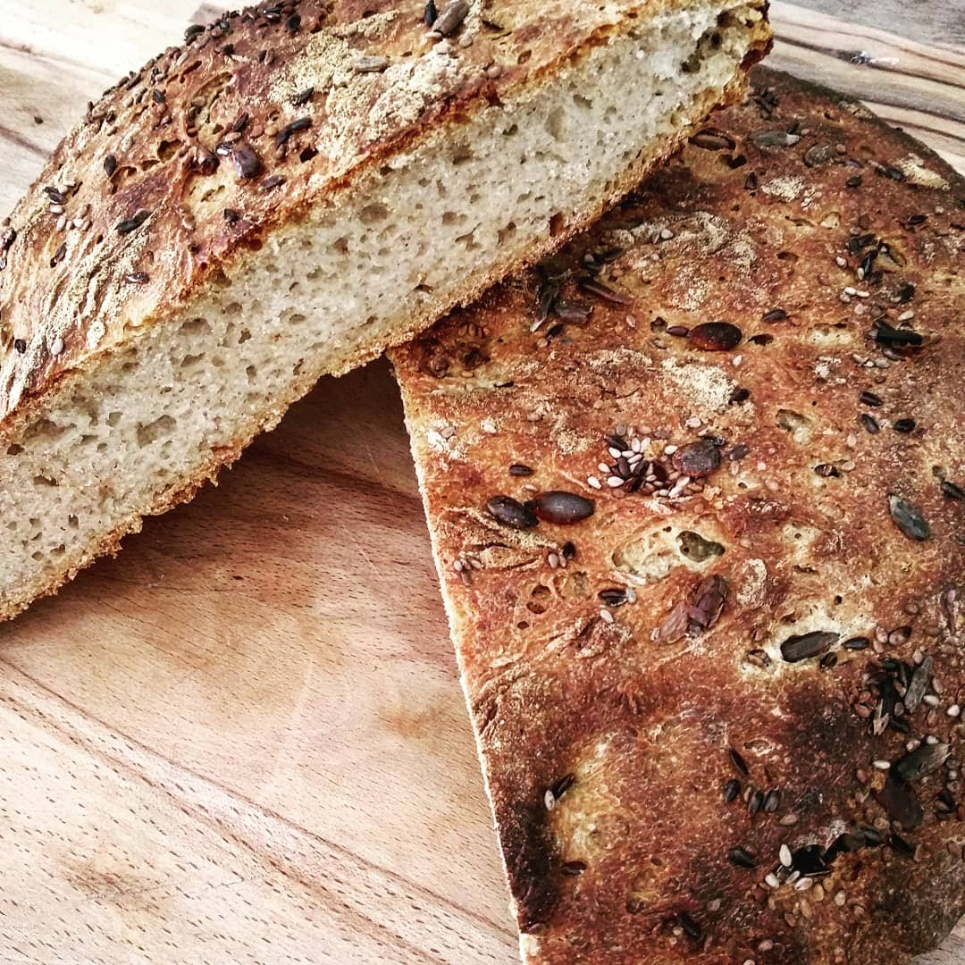 No Dough semi-wholemeal Bread