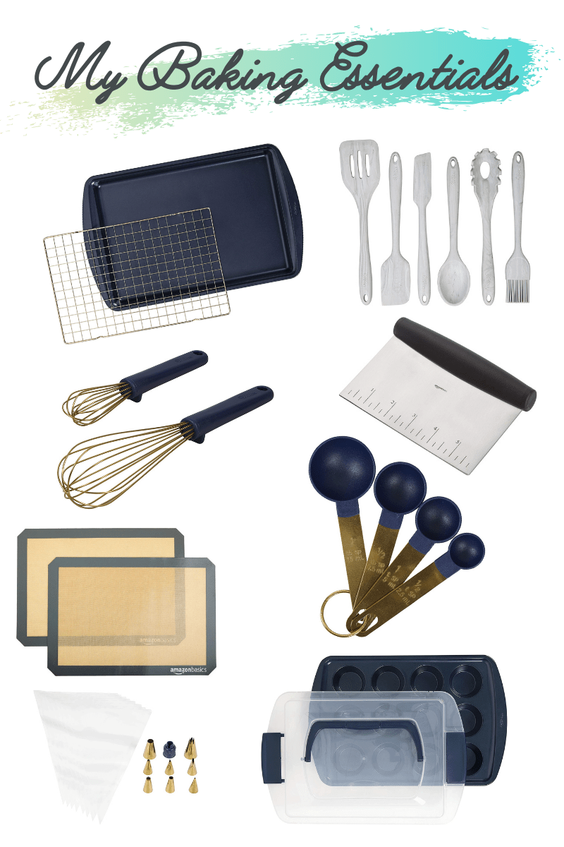 My baking essentials tools
