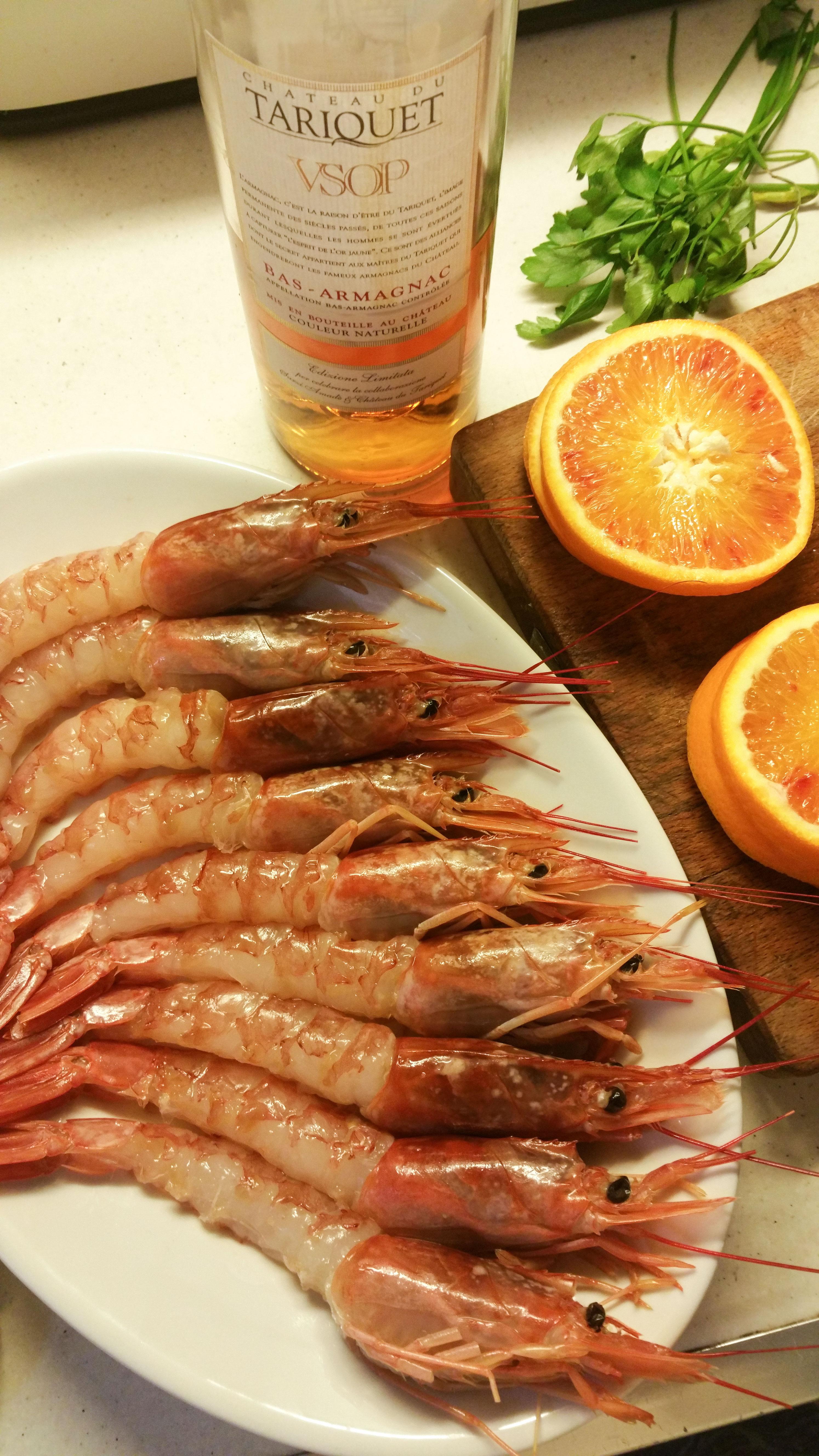 flambe prawns ingredients