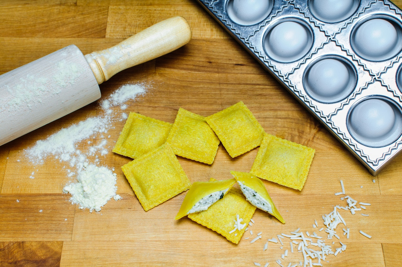 ravioli fillings with ricotta and spinach