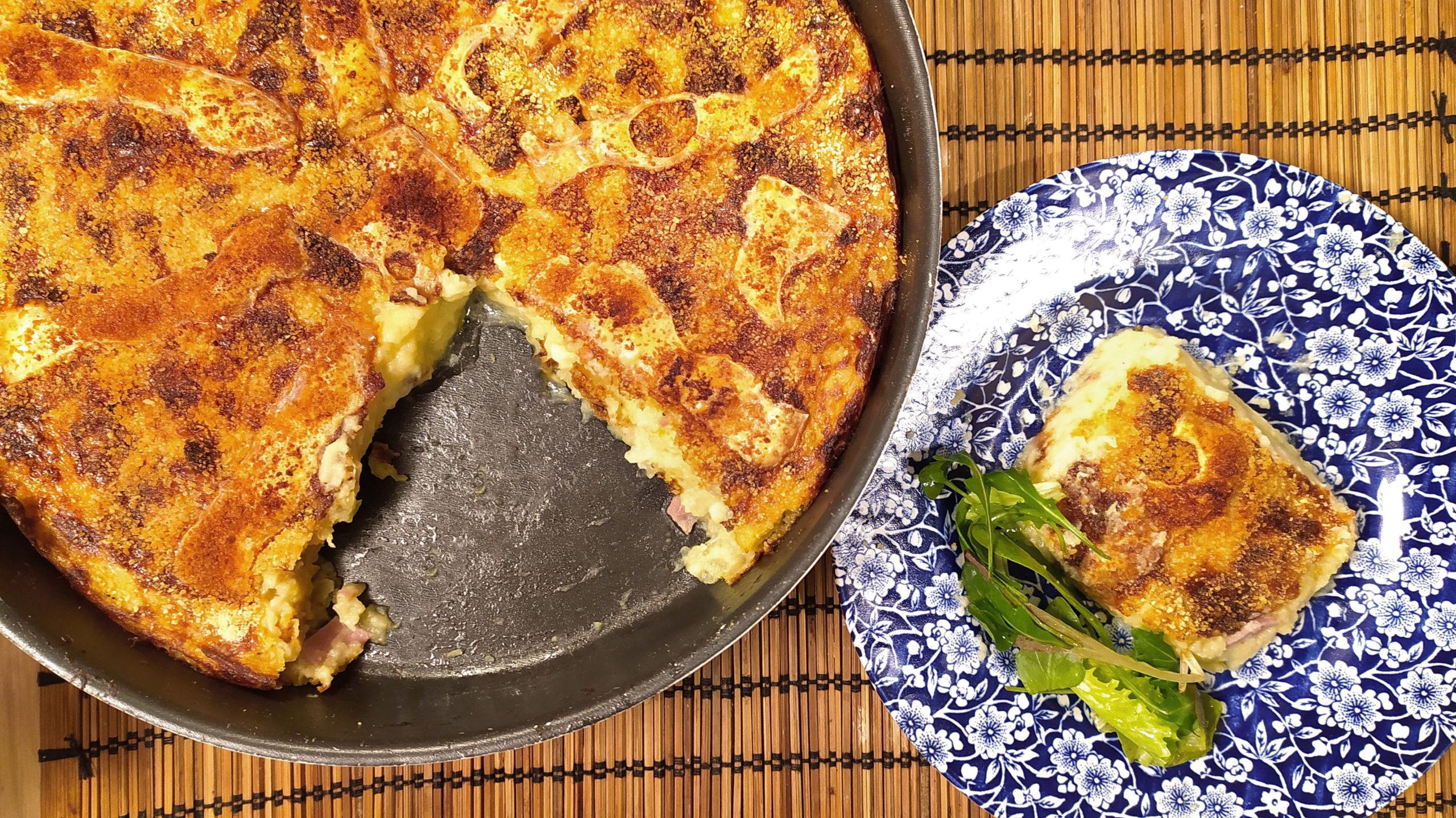 mashed potato pie cover