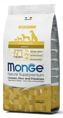 MongeAll Breeds Adult Pollo