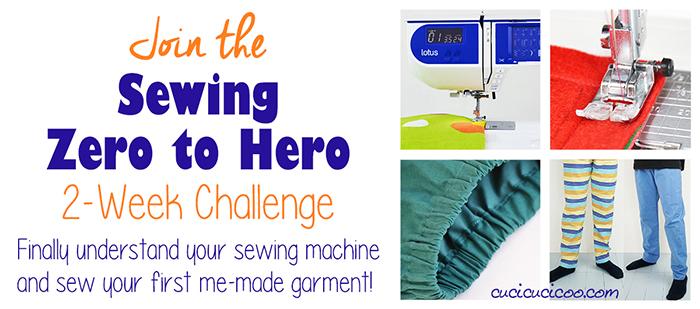 2 Week Beginner Sewing Challenge