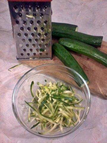 zucchine alla julienne in padella