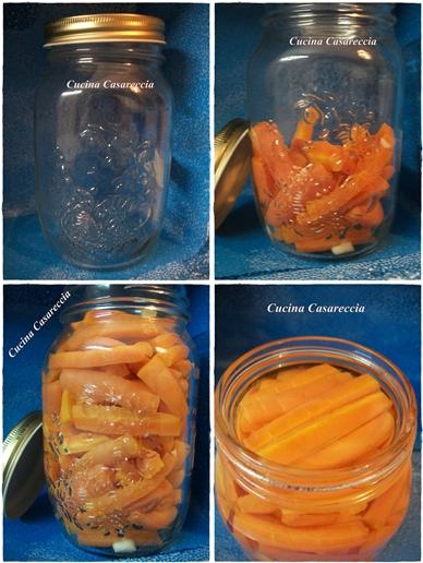 Carote sott'olio ricetta conserva