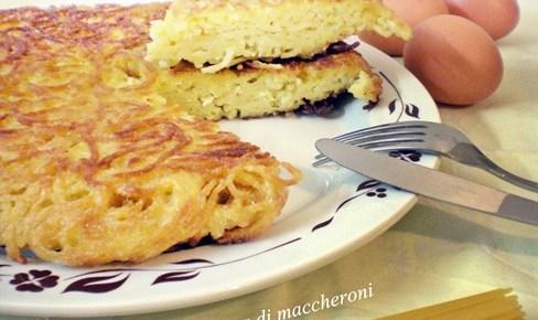 Pizza di maccheroni ricetta napoletana finger food