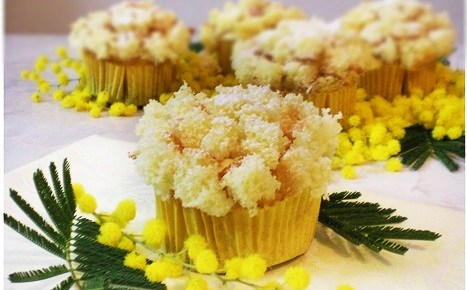 Cupcakes o muffin mimosa