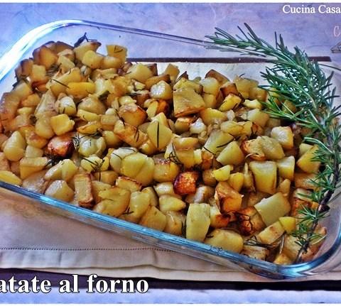 Patate al forno ricetta contorni