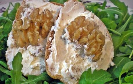 Mascarpone e noci ricetta antipasti