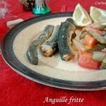 Anguille fritte secondi di pesce